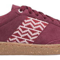 Song Hong | Cork Suede Red